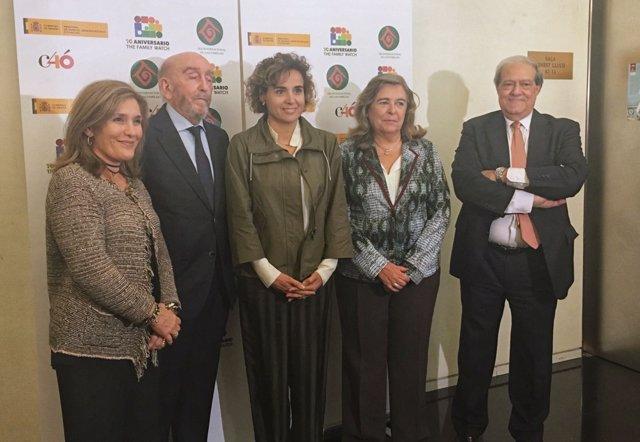 Dolors Montserrat participa en el Día Internacional de la Familia en el Congreso