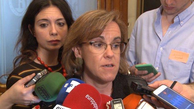 Villacís, Martínez-Almeida, Rita Maestre y Causapié a la salida de un acto