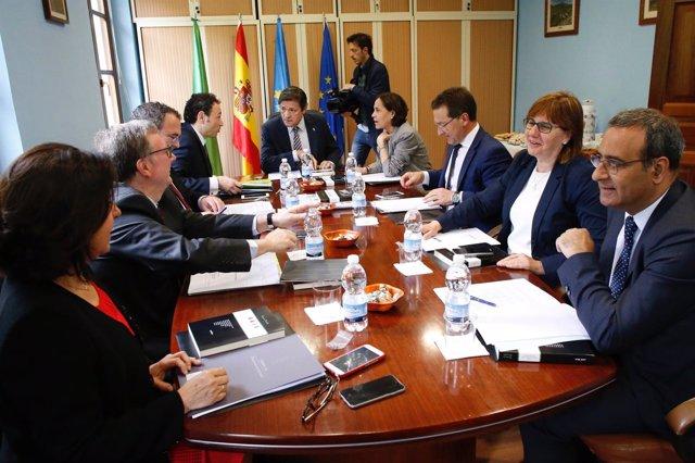 Consejo de Gobierno en Santo Adriano