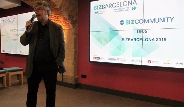 El concejal de Turismo y Empresa, Agustí Colom
