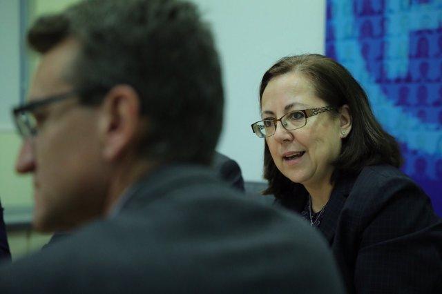 María Jesús Moro, diputada del PP