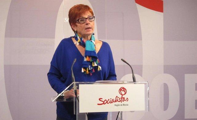 La concejal del PSOE Begoña García Retegui. Foto archivo