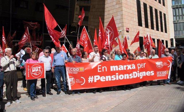 Manfiestación por unas pensiones dignas
