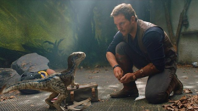 Chris Pratt en Jurassic World: El mundo caído