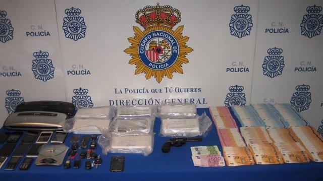 Desarticulan a un grupo de narcotraficantes que introducía cocaína en Mallorca desde Galicia