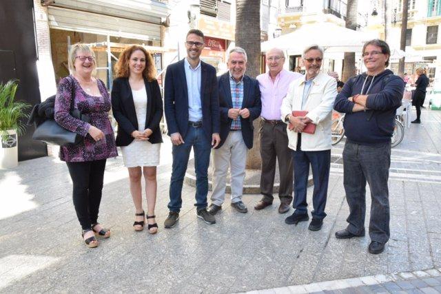 José Carlos Durán en rueda de prensa en Málaga