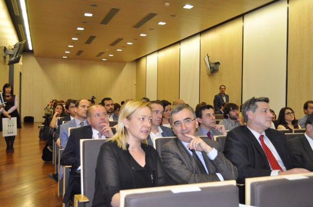 Clausura del IV Foro de Emprendimiento Agroalimentario en Aragón, en Bantierra