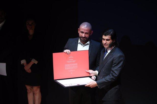 Morante la Puebla recibe el Premio de Cultura de la Comunidad de Madrid