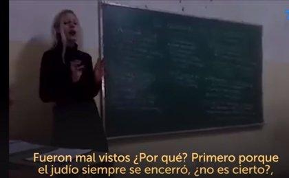 """Una profesora argentina asegura que a Hitler """"lo demonizaron"""" y justifica """"el odio hacia los judíos"""""""
