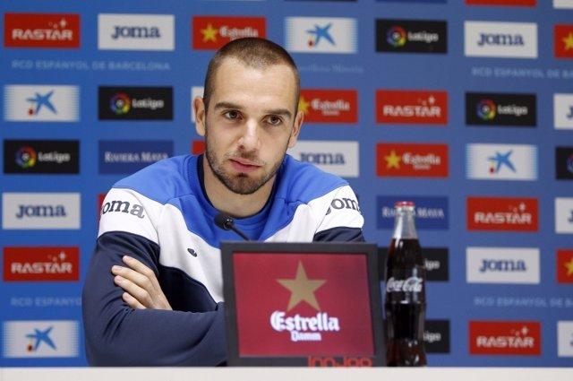 Pau López, portero del RCD Espanyol
