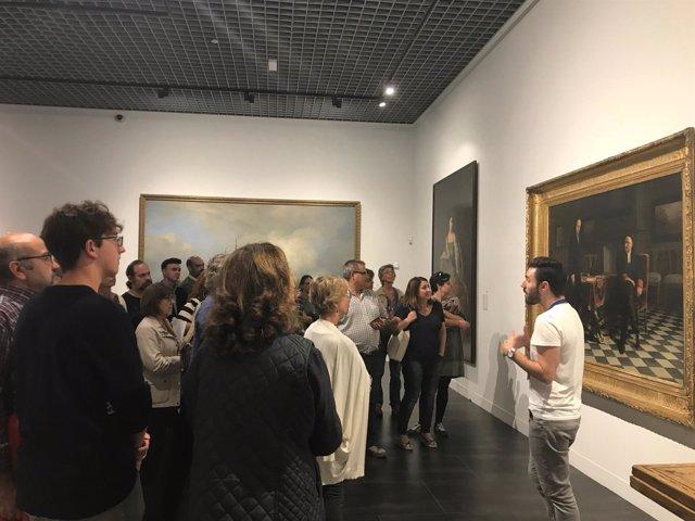 Vista a un museo, málaga, Día Internacional de los Museos