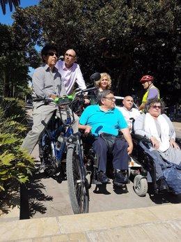 Zorrilla, de Málaga para la Gente, informa sobre accesibilidad