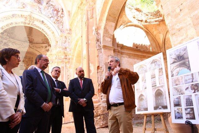 Inauguración de la restauración parcial de la iglesia del Monasterio de Piedra