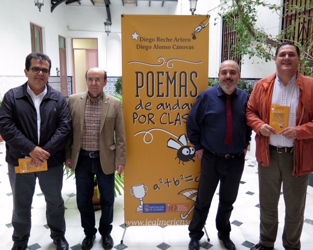 La UNED acoge la presentación del libro 'Poemas de andar por clase'.