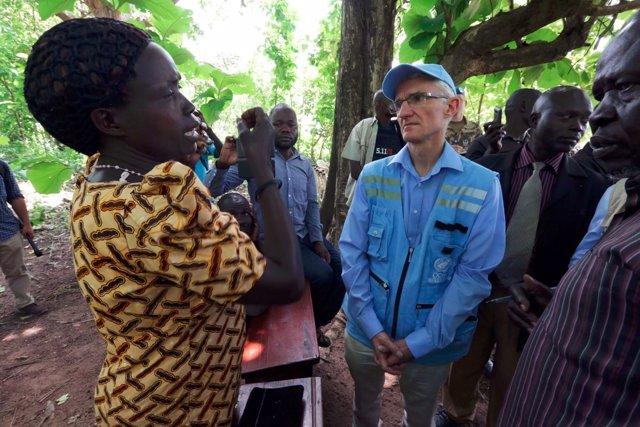 Mark Lowcock visita Sudán del Sur