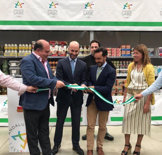 Inauguración de prromoción Andalucía Sabe en Puerto Real