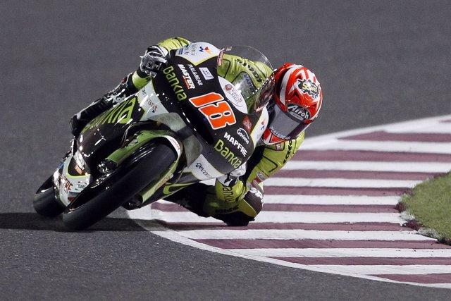 El piloto del Bankia Aspart Team, Nico Terol (Aprilia)