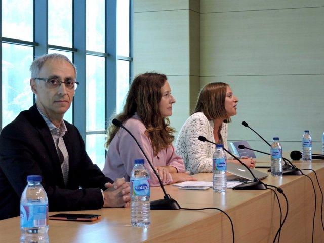 La delegada territorial de Educación, Remedios Palma