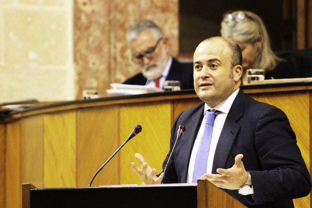 Julio Díaz, parlamentario de Cs por la provincia de Huelva.