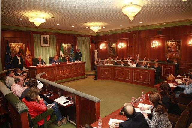 Pleno del Ayuntamiento de Marbella mayo 2018