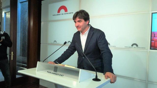 Sergi Sabrià (ERC) en una imagen de archivo