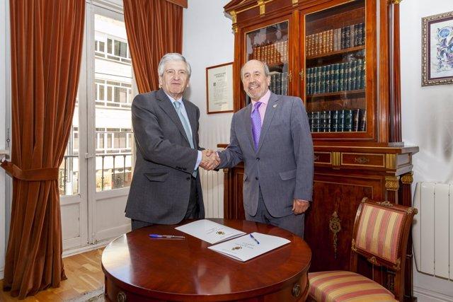 Convenio entre Fundación ASISA y la Real Academia de Farmacia