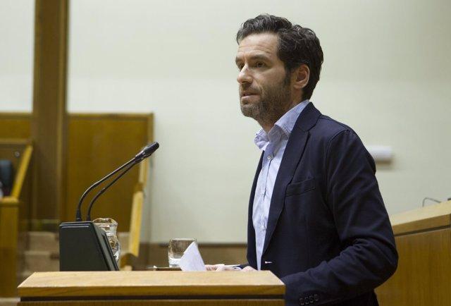 Foto de archivo de Borja Sémper en el Parlamento Vasco