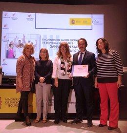 Unión de Mutuas recibe el premio 'Empresa Saludable' del Ministerio de Empleo