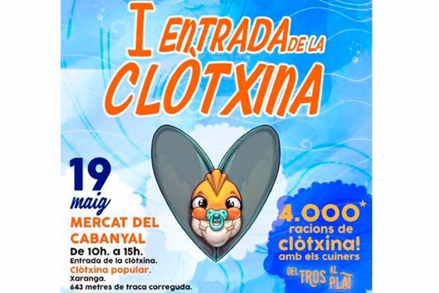 'Clotxinada' En El Mercado Del Cabanyal