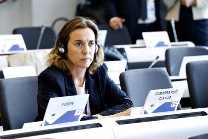 Gamarra apoya en Bruselas que se mantengan los fondos de cohesión y para agricultores