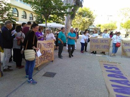 Un centenar de personas denuncian en Ibiza el incumplimiento en los PGE del Pacto contra la Violencia de Género