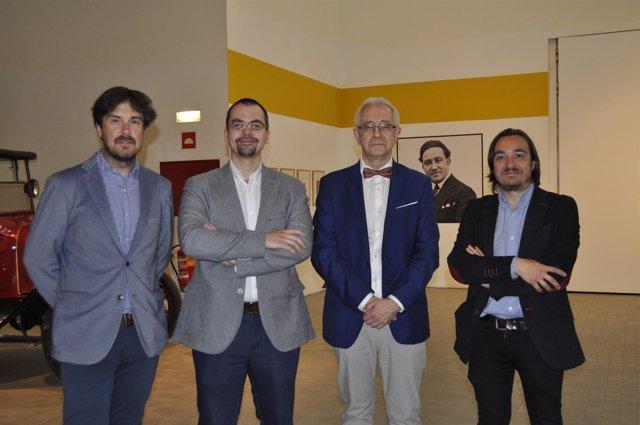 El director general de Cultura, Nacho Escuín, ha inaugurado la exposición.