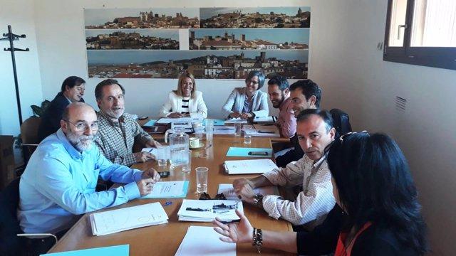 Reunión del Consorcio Cáceres Ciudad Histórica