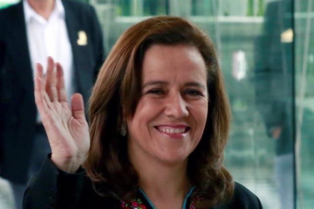 La ex primera dama mexicana Margarita Zavala