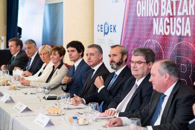 Almuerzo de Cebek con motivo de su Asamblea General