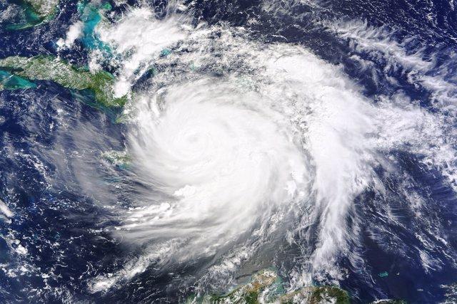 Huracán Matthew sobre Haití