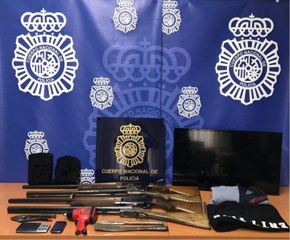 Desarticulada en Jaén una organización dedicada a robos, narcotráfico y receptación