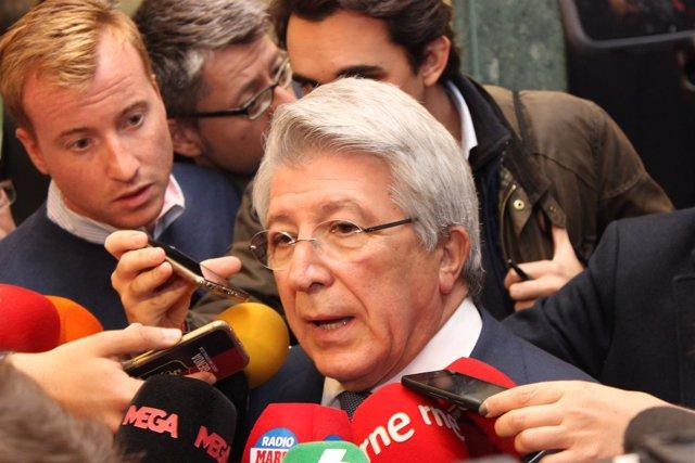 Enrique Cerezo (Presidente Atlético de Madrid)