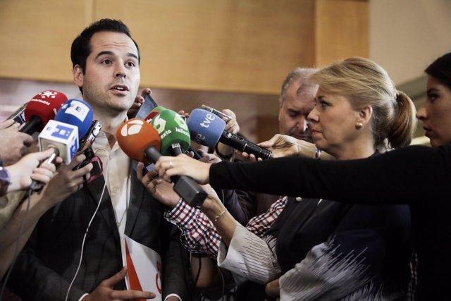 El portavoz de Ciudadanos en la Asamblea, Ignacio Aguado