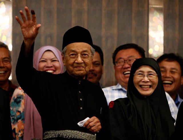 Mahathir Mohamad, primer ministro de Malasia