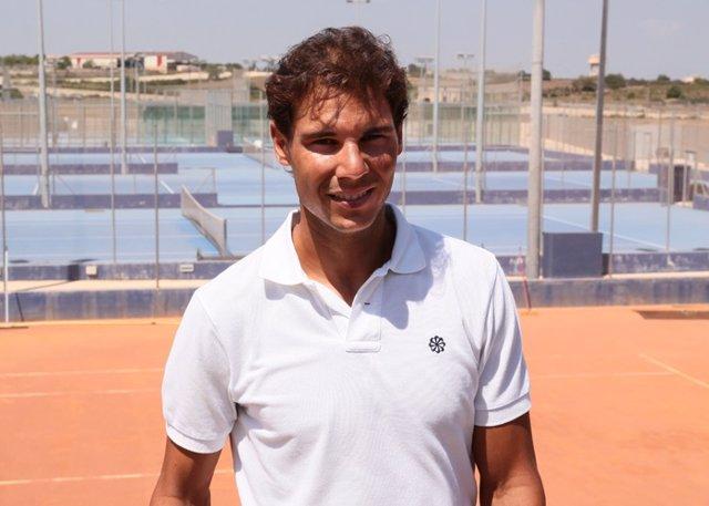 Rafa nadal y su nuevo centro de tenis