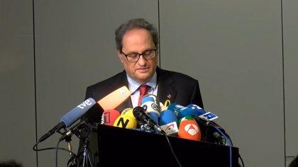 """El Gobierno no asiste a la toma de posesión de Torra porque el modelo de acto degrada """"la dignidad de la institución"""""""