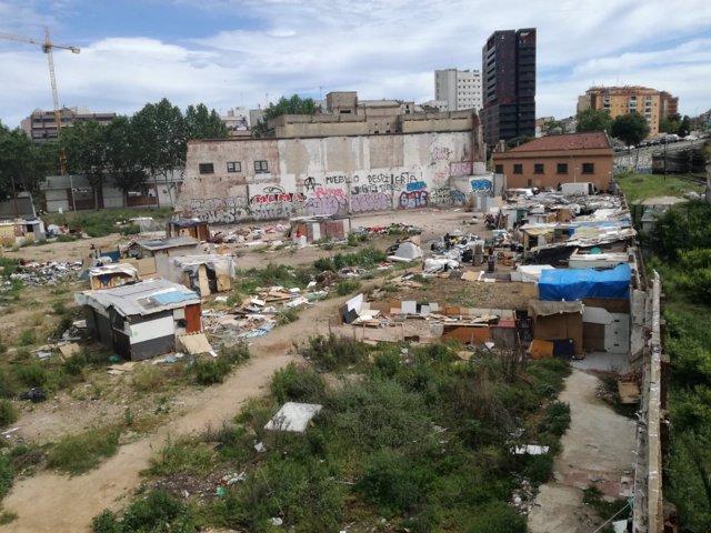 Asentamiento en Sant Martí