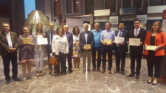 Premian a entidades y personas por su defensa del patrimonio industrial andaluz.