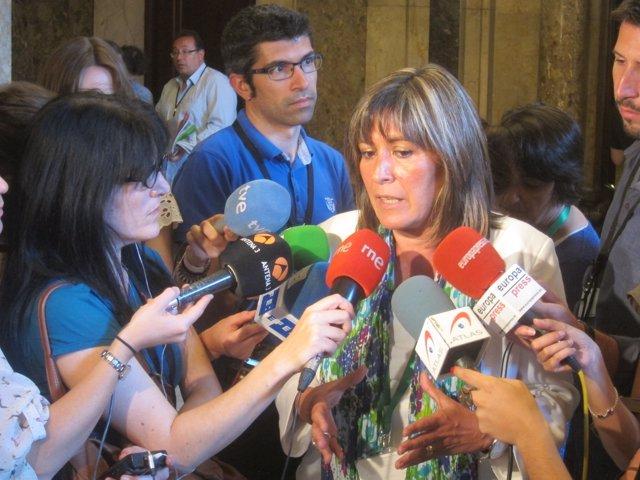 Núria Marín, alcaldesa de L'Hospitalet /ARCHIVO