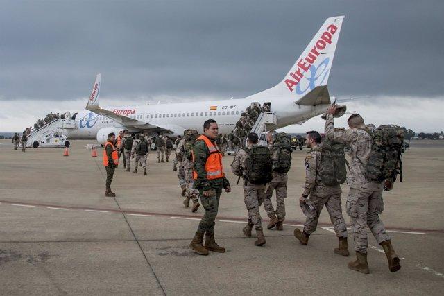 Una rotación de la Brileg parte a Irak