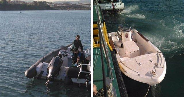Embarcaciones accidente Algeciras