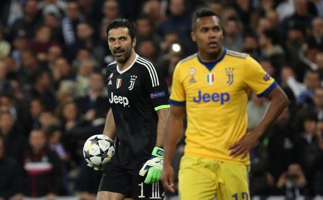 El portero de la Juventus Gianluigi Buffon