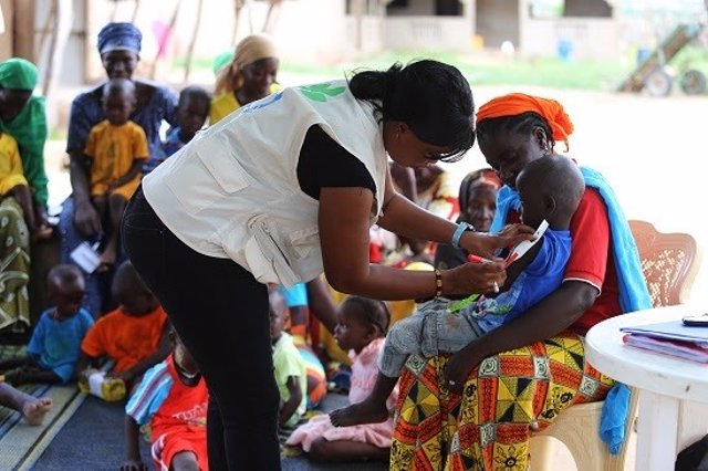 Actuación de Acción contra el Hambre en Senegal