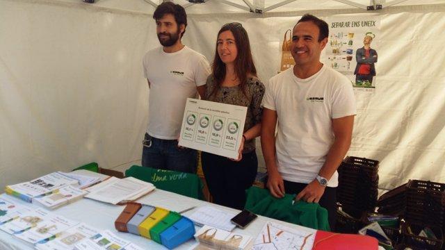 Neus Truyol presenta los datos de reciclaje de Palma